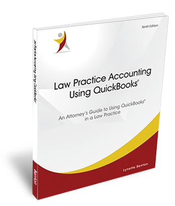 Law Practice Accounting Using QuckBooks Book Cover
