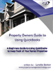 QuickBooks for Property Owners- A Step by Step Book, Setup Services, File Analysis, and Consulting for proerty owners, property managers and landlords - Learn how to manage properties with QuickBooks and save hundreds